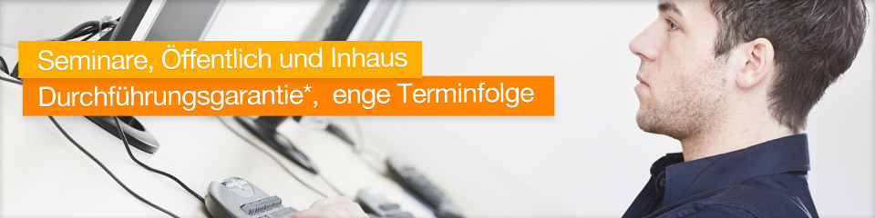 Seminare für Citrix, VMWare, Enteo, DB2, Oracle